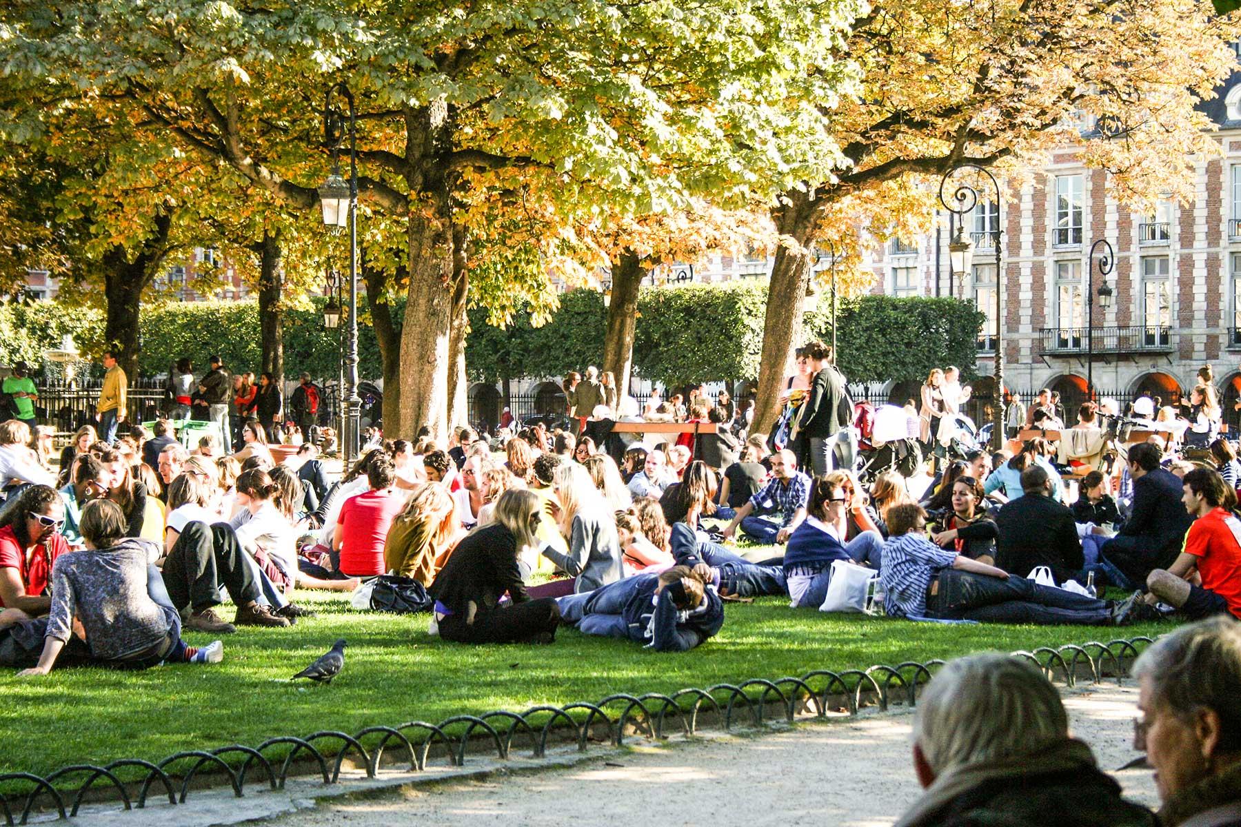 Place des Vosges, Le Marais, Paris